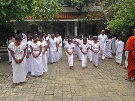 Sati Pasala Mindfulness program at Dhammikarama Temple Dhamma School (10)