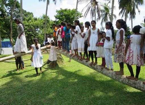 The New Year Sati Camp at Kaduwela Sati Pasala