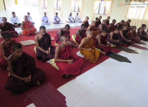 Sathi Pasala at Diyakalamulla Sripathi Pirivena, Kuliyapitiya