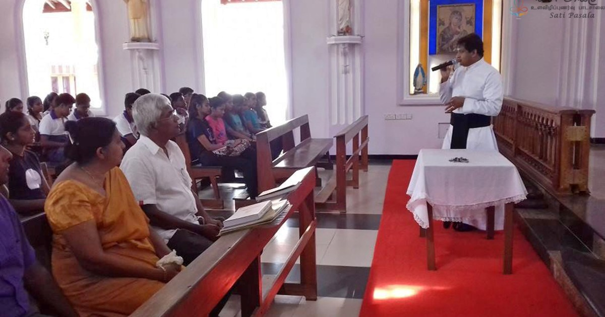 Sati Pasala Programme at Malwaththa Church, Negambo