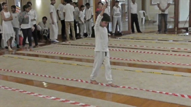 Mindful Game - Balancing & Walking on the Line
