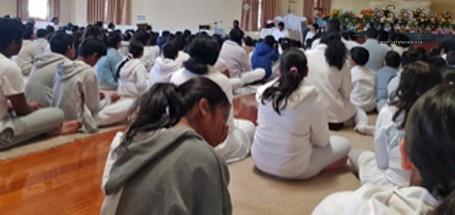 Sati Pasala session conducted for Dhamma Sarana Daham Pasala - Melbourne, Australia (3)
