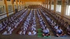 Thawalama Vidyaraja National School Grade 8 & 9 Students Practiced Mindfulness