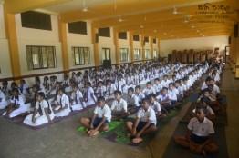 Thawalama Vidyaraja National School Grade 8 & 9 Students Practiced Mindfulness (4)