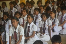 Thawalama Vidyaraja National School Grade 8 & 9 Students Practiced Mindfulness (7)