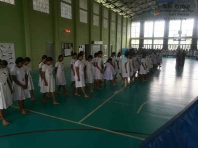 Mindfulness Programme at Sumana Balika Vidyalaya, Ratnapura (11)