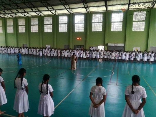 Mindfulness Programme at Sumana Balika Vidyalaya, Ratnapura (12)