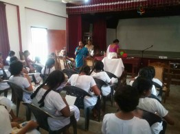 Mindfulness Programme at Sumana Balika Vidyalaya, Ratnapura (2)