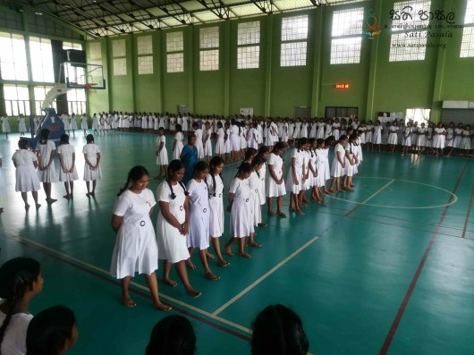 Mindfulness Programme at Sumana Balika Vidyalaya, Ratnapura (20)