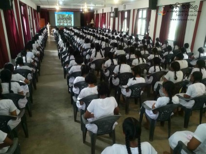 Mindfulness Programme at Sumana Balika Vidyalaya, Ratnapura (31)