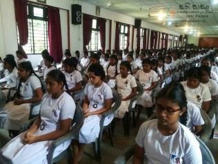 Mindfulness Programme at Sumana Balika Vidyalaya, Ratnapura (33)