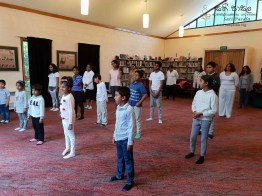 Sati Pasala -Dunedin -New Zealand has completed two years in September, 2018 (Yoga) (2)