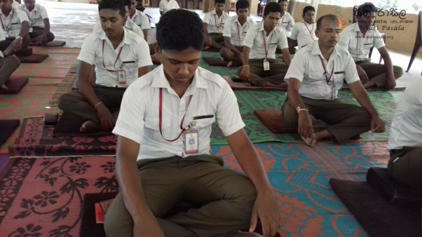 Sati Pasala Mindfulness Programme for Trainee PHI (15)