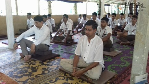 Sati Pasala Mindfulness Programme for Trainee PHI (7)