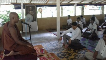 Sati Pasala Mindfulness Programme for Trainee PHI (8)