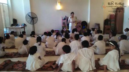 Sati Pasala Programme at Seelawathi Sewana, Wickramasinghapura (12)