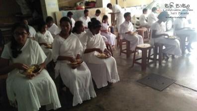 Sati Pasala Programme at Seelawathi Sewana, Wickramasinghapura (7)