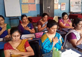 Sati Pasala for Teachers at Keppetipola College Kandy