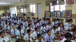 Mindfulness for grade 4 and 5 students from President Model School Dodanwala (5)
