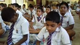 Mindfulness for grade 4 and 5 students from President Model School Dodanwala (6)