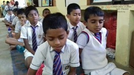Mindfulness for grade 4 and 5 students from President Model School Dodanwala (7)