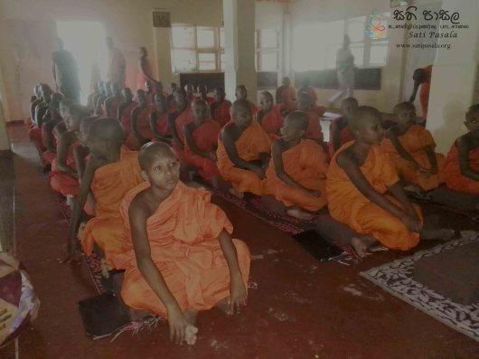 Sati Pasala Initiative Programme at Banagala Sri Upatissa Pirivena (1)