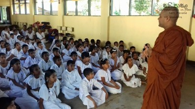 Sati Pasala Mindfulness Programme for Sri Dharmodaya Sunday School (4)