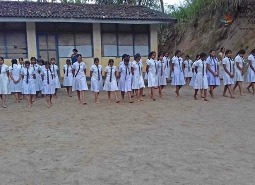 Sati Pasala at Handessa Maha Vidyalaya, Daulagala