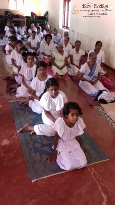 Sati Pasala at Sri Bodhiraaja Pirivena Kaluthenna, Bopana Udu Dumbara (5)