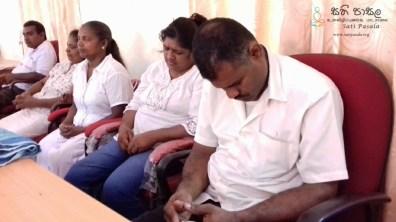 Sati Pasala programme at Prashakthi Disabled People Association, Udu Nuwara (12)