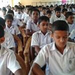 Sati Pasala Mindfulness Programme for Nayapana Maha Vidyalaya, Kothmale