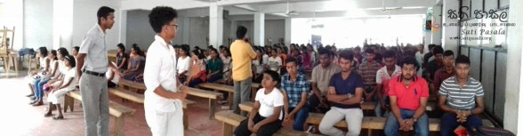 Sati Pasala Mindfulness Programme for Vishva Institute, Mawanella (5)