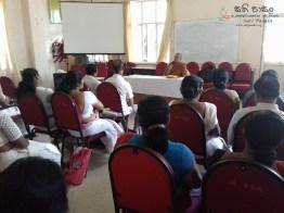 Sati Pasala Mindfulness Programme at Harispattuwa District Secretariats office (3)