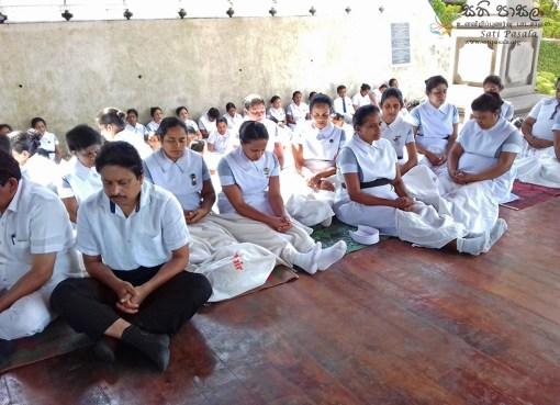 Sati Pasala Mindfulness Programme at Kandy General Hospital