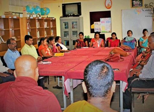 Sati Pasala Programme at Ellepola Vidyalaya - 21st January 2019