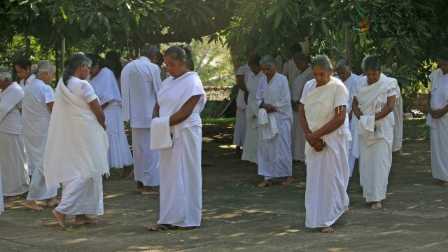 Poya Day Sati Pasala Programme at Dewanapethis Meditation Centre - 19th February 2019
