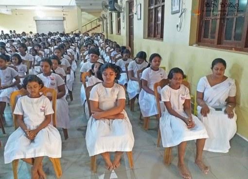 Sati Pasala Programme at Viharamahadevi Balika Vidyalaya - 5th February 2019