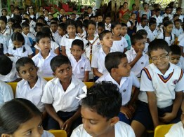 Sati Pasala at Pilimathalawa Primary School (1)