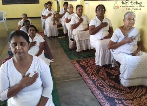 Sati Pasala at Sri Nigrodaraamaya, Dewaragampola, Mawanella