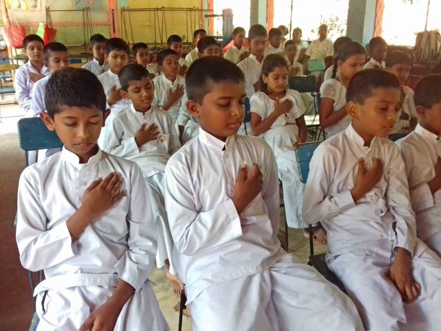 Mindfulness for Sri Rathanajothi Sunday School, Balawathgama