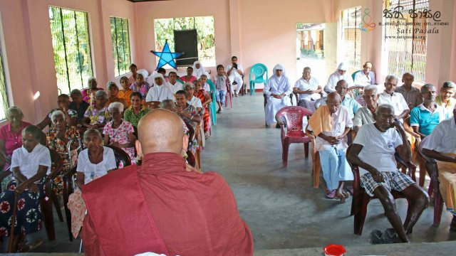 Sati Pasala Programme at St. Joseph's Home for Elders - 24th February 2019