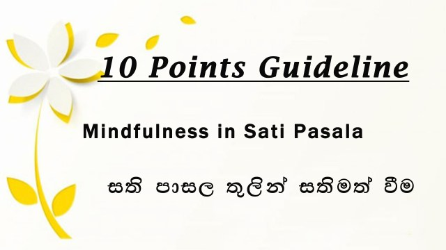 10 Points Guideline