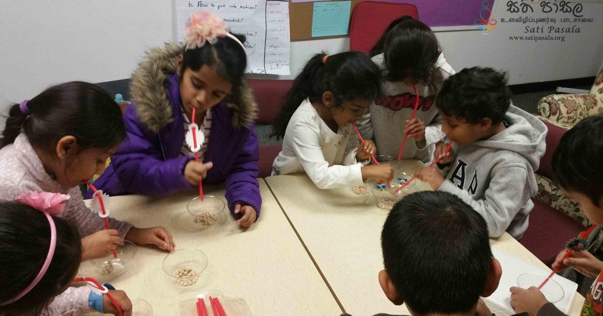 Sati Pasala Activities at Samadhi Dhamma School New Jersey
