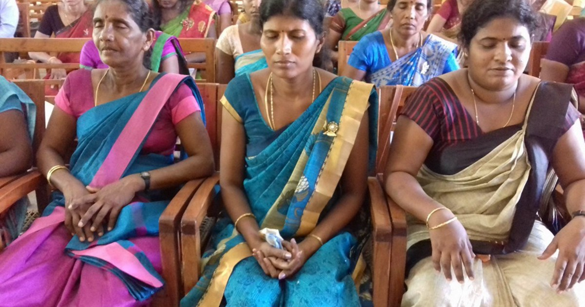 Sati Pasala Mindfulness Programme for Primary Teachers in Jaffna District