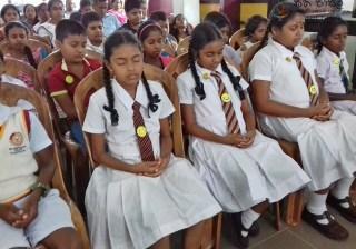 Sati Pasala Mindfulness Program at People's Bank, Pilimathalawa