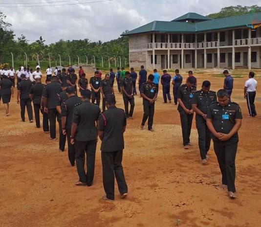 Sati Pasala Mindfulness Program for Sri Lanka Army Volunteer Force (SLAVF), Kosgama