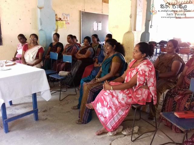 Sati Pasala at Gadaladeniya MV