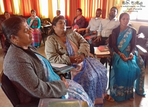 Sati Pasala for Teachers in Nuwara Eliya