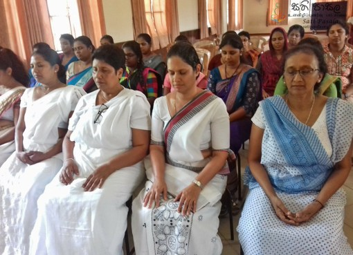 Sati Pasala Program for Primary Teachers in Kandy at Trinity College, Kandy