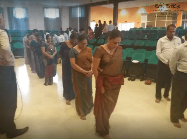 Sati Pasala Mindfulness Program for Representatives of 19 Teaching Colleges